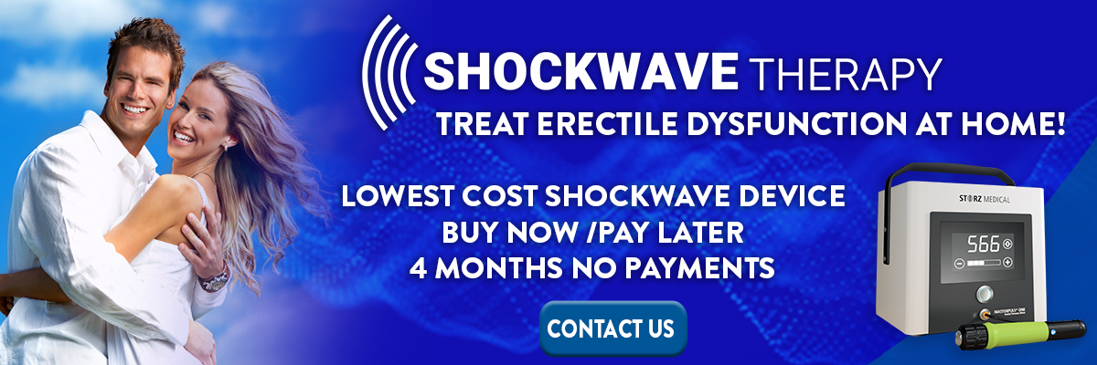 Shockwave Therapy for Erectile Dysfunction at Home