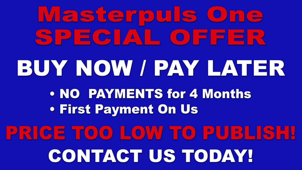 Masterpuls One Special Offer