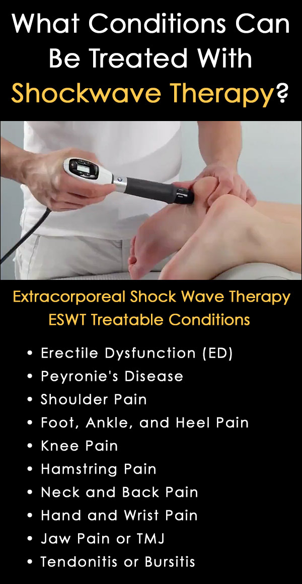 ESWT Treatment - Extracorporeal Shockwave Therapy