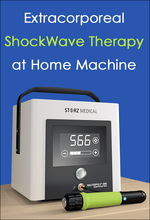 Extracorporeal Shockwave Therapy at Home Machine